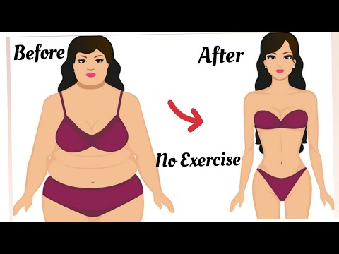 Lose Weight Fast & Easy Without Exercise