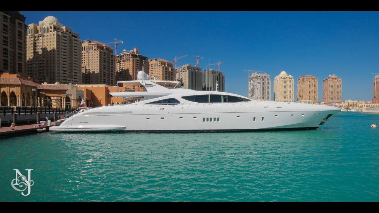 165 Mangusta Yacht Serenity For Sale