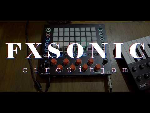 Chill Hip Hop On Novation Circuit - FXSONIC CIRCUITJAM