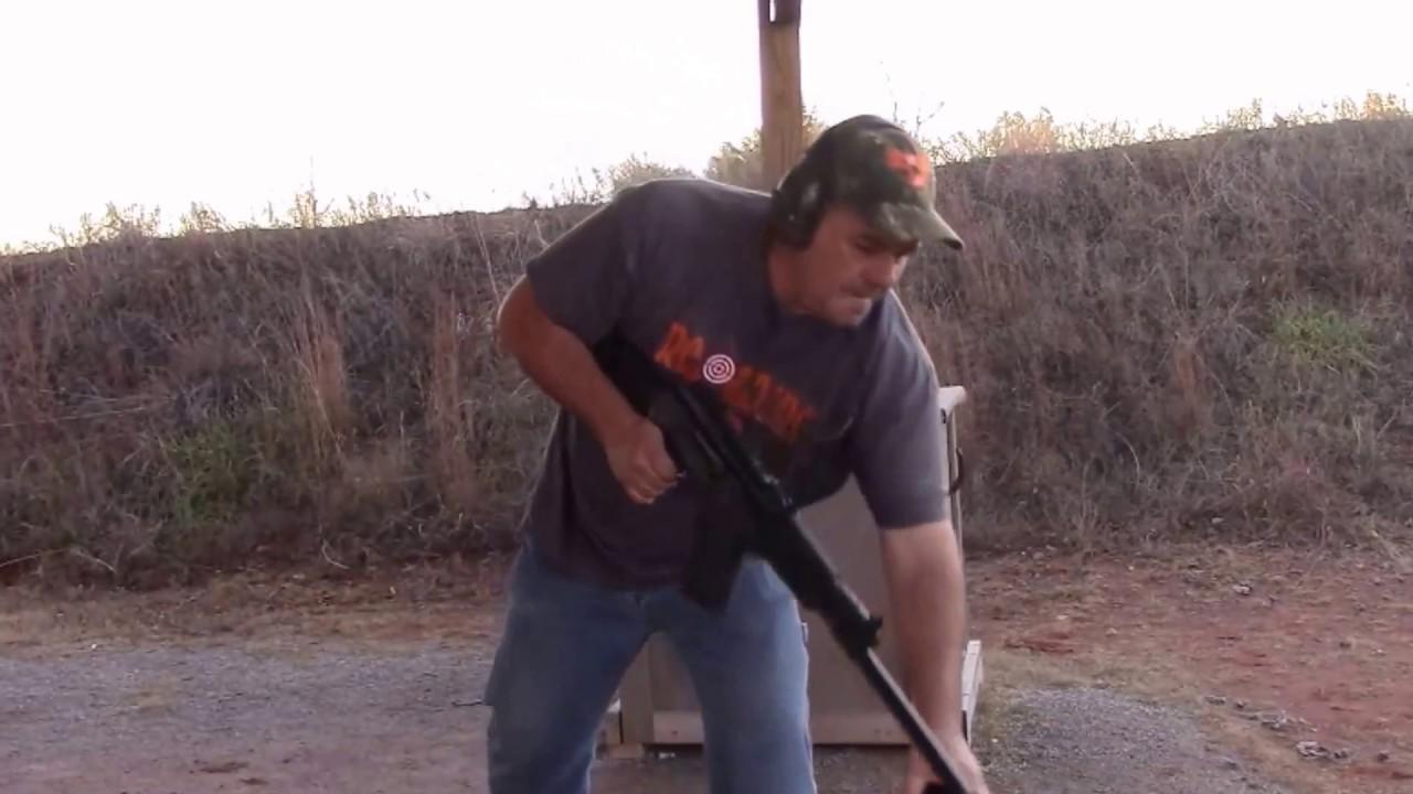 Putting A 100 Rounds Through The JTS Ak 47 Shotgun