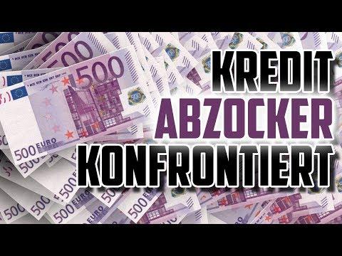 100.000€ Kredit Betrüger konfrontiert