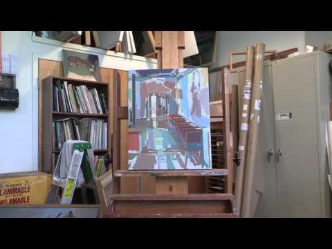 Lee: Painting W&M's shadowy spaces