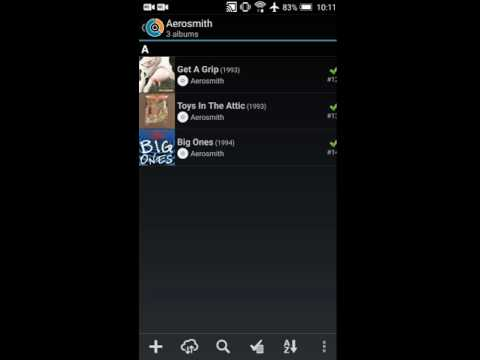 CLZ Music Android: Grouping into folders