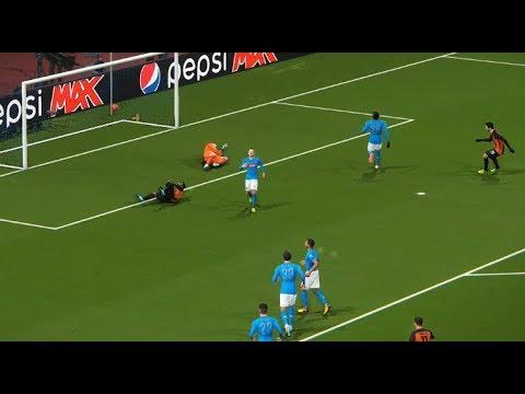 SSC Napoli vs Shakhtar Donetsk | UEFA Champions League 2017/2018 | 21/11/2017 PES 2018