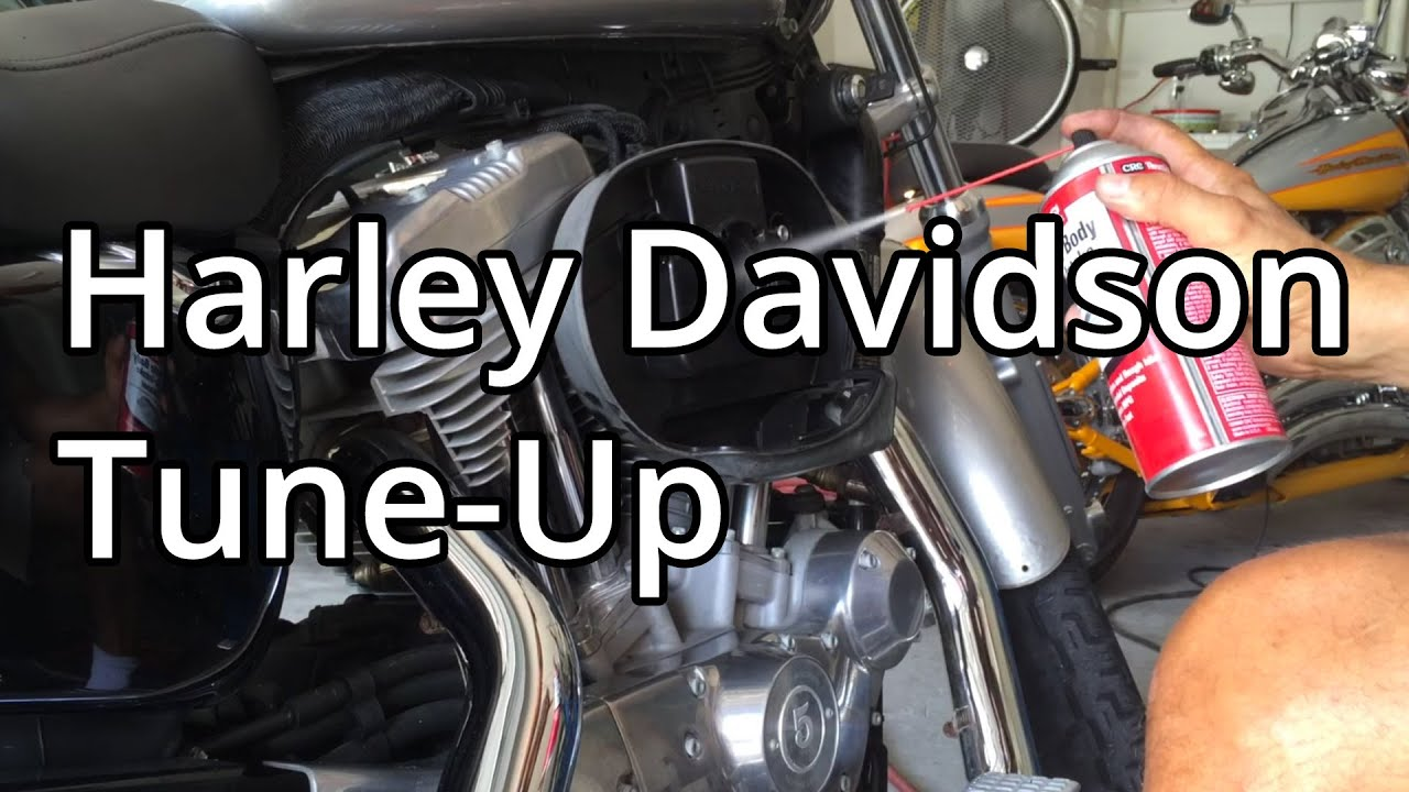 How To Harley Davidson Tune Up On A Sportster Spark