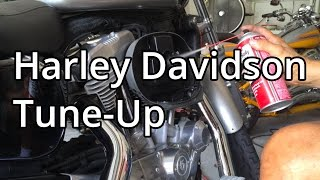 How To: Harley Davidson Tune Up on a Sportster - Spark Plugs And Air Filter
