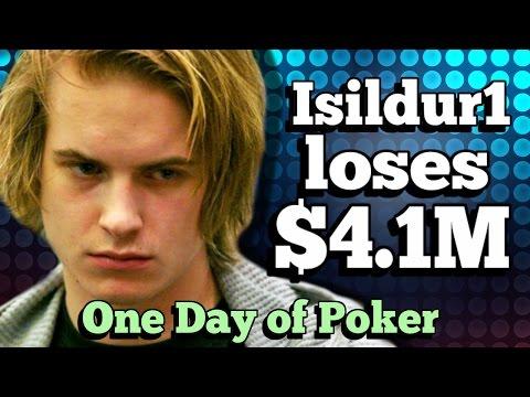 The day that saw Isildur1 lose $4.1M