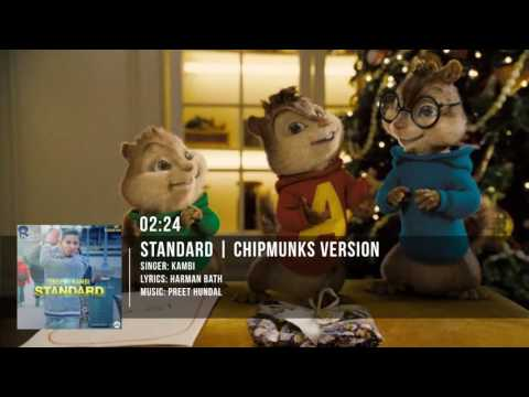 STANDARD |  KAMBI ft. Preet Hundal | Chipmunks Version