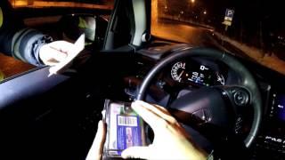 Honda Pilot - болтовня в ночном движении