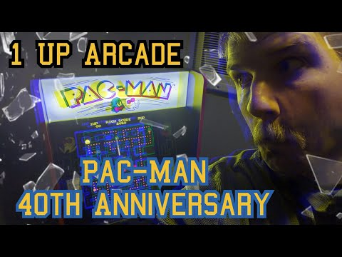 Pac-Man 40th Anniversary 1-Up Arcade Cabinet... FOR FREE?! from Iowa Retro Gamer Dad
