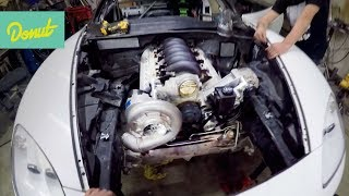 Giving the Corvette a New LS Heart! Sort of. | Drift Corvette Build w/Matt Field