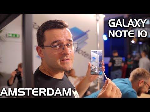 Какво правихме в Амстердам и защо Galaxy Note 10 e уникален?