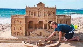 As Esculturas de Areia Mais Legais! Você Precisa Ver Isto!