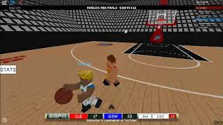 ROBLOX NBA Finals||Cavaliers Vs Warriors||2nd Quarter+||