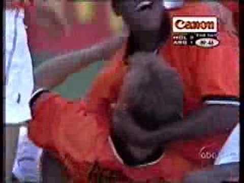 Dennis Bergkamp Vs Argentina 1998 WC As Seen On American TV