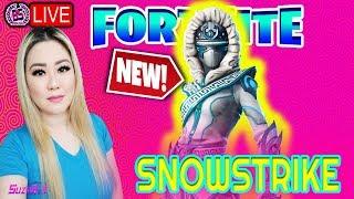 *NEW SKIN SNOWSTRIKE* BRO & SIS DUO GRIND 1484 WINS!! FORTNITE BATTLE ROYAL!!