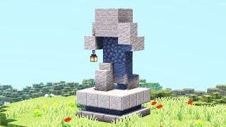 Статуя странника в майнкрафте