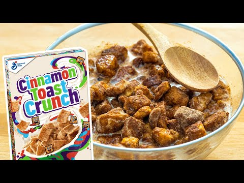 Homemade Cinnamon Toast Crunch Recipe For Beginners (DIY Cinnamon Toast Crunch!)