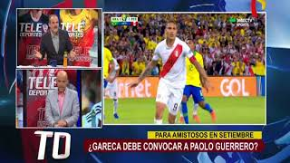 Paolo Guerrero no jugaría los partidos amistosos ante Ecuador y Brasil