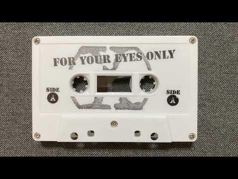 Official X-Files Fan Club Audio Cassette - 1996 Burbank Convention