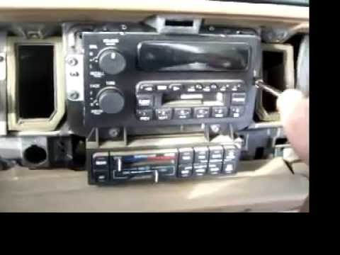 Buick Century Wiring Diagram How To Remove A Radio From A 95 Buick Lesabre Part 2 Youtube