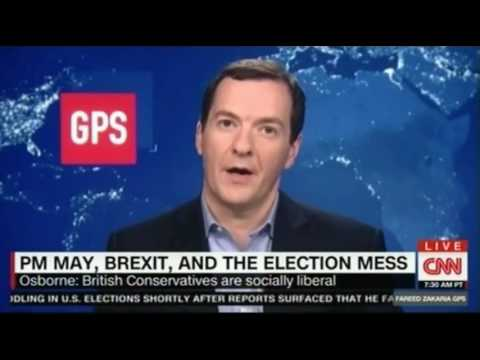 George Osborne fmr UK chancellor explains why Theresa May performed poorly in elections