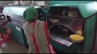 Working of Khakhra Making Machine