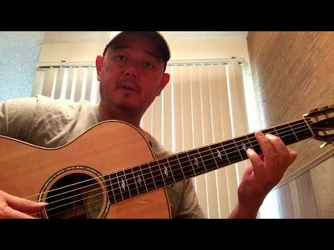 Sparks Fly  fingerstyle tutorial - Intro