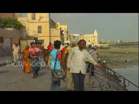 The city of Dwarka, Gujarat