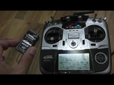How to Program Futaba 14SG Radio to setup DJI WKM Part 1