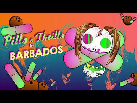 Pills n' Thrills in BARBADOS - Mockup Ad