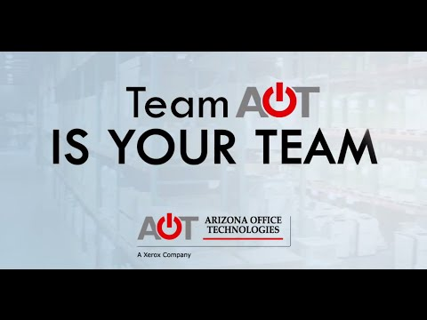 We are AOT - All About Arizona Office Technologies