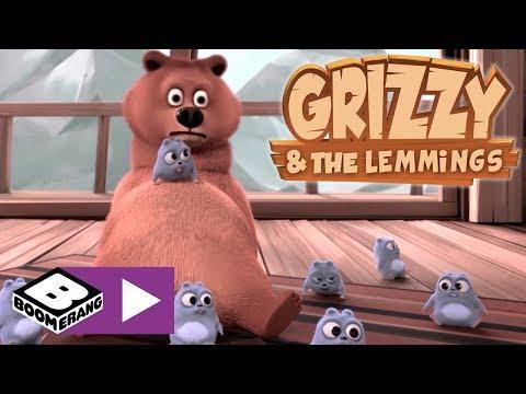 Grizzy ve Lemmingler | Minik Grizzy | Boomerang