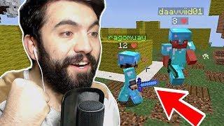 MUHTEŞEM BİR OYUN (2 VS 4) !!! Minecraft: CAKE WARS