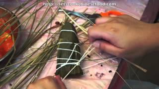 中式節日食譜:紅豆粽
