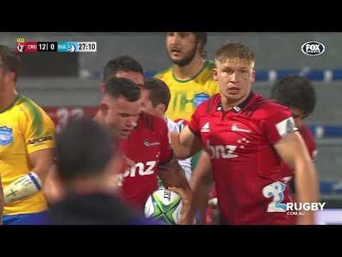 2018 Super Rugby Round Six: Crusaders vs Bulls