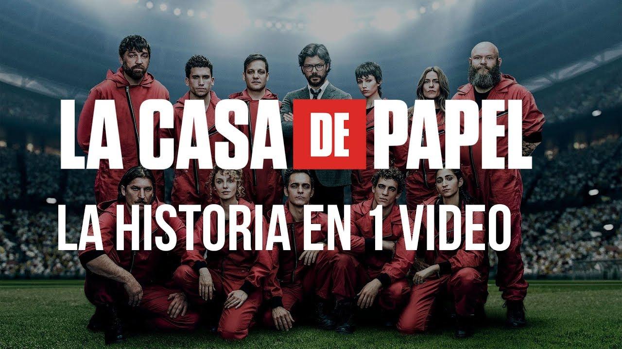 La Casa de Papel Temporada 1 y 2: La Historia en 1 Video