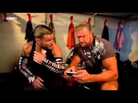 Jeff Hardy vs Triple H 2008 no mercy part 1