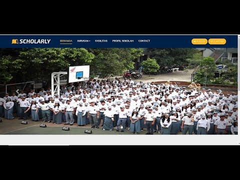 Website Sekolah Siap Pakai Berbasis Php - Free Source Code