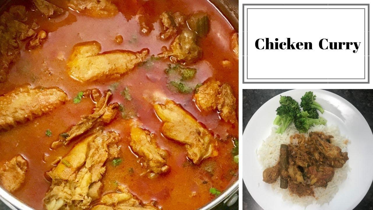 Chicken curry | கார சாரமான சிக்கன் குழம்பு | Tamil recipes | Canada Tamil vlogs |