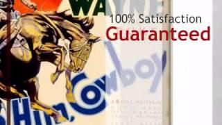 John Wayne Ride Him Cowboy Sign - lonestarwesterndecor.com