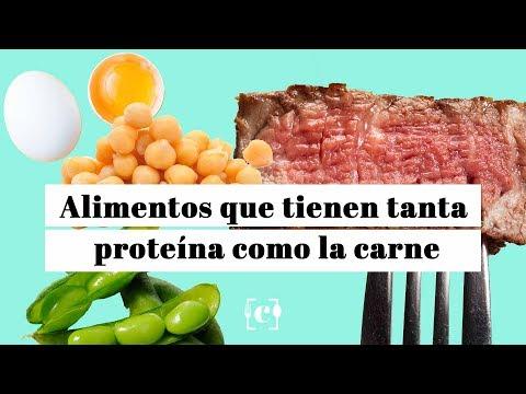 alimentos ricos en proteina que no sea carne