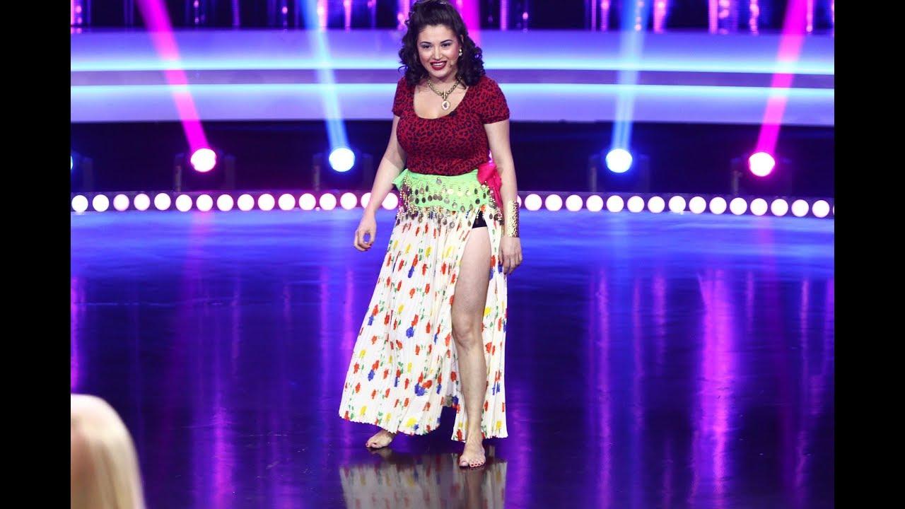 Piranda Antonia Boantă, show total la iUmor. Concurenta oferă sfaturi pentru isterici