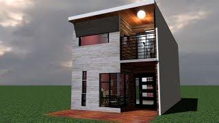 Casa 5x10 Mts / House 5 x 10 mts