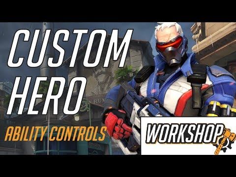 Making a Custom Hero In Overwatch Workshop: Ability Controls