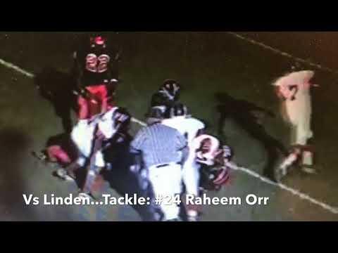 Elizabeth High School 1998 Football Season: School of Hard Knocks...Top Defensive Highlights