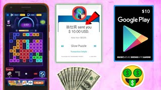 Glow Puzzle Payment PROOF || Free Google Play Gift Card || Get Free Paypal Money || Tricks Hoster