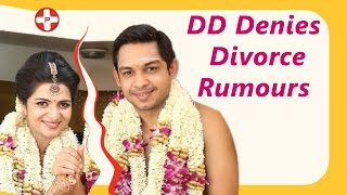 Vijay TV DD denies rumours about her divorce | Srikanth Ravichandran | Divya Darshini | TV Anchor