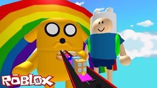 Roblox -  Escape do Finn & Jake do Hora de Aventura #VídeoExtra