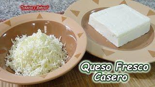 QUESO BLANCO CASERO FRESCO, SEMIDURO O DURO receta perfecta y muy fácil
